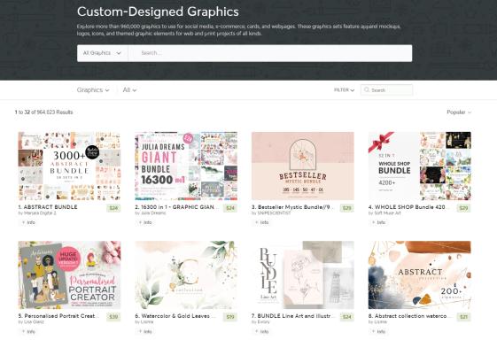 Creative market Graphics