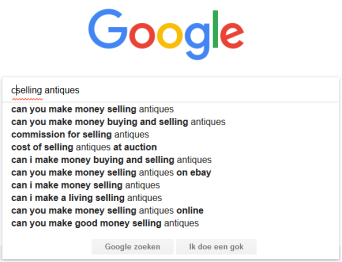 Selling antiques c