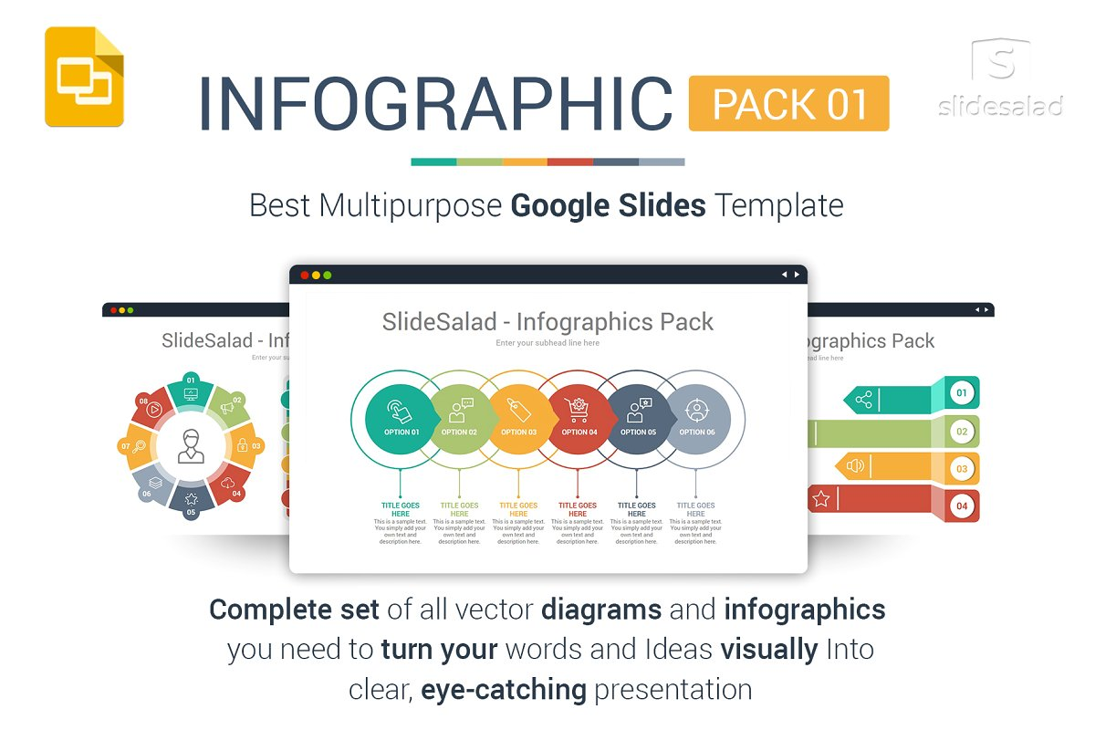 Best Google Slides Infographics Pack