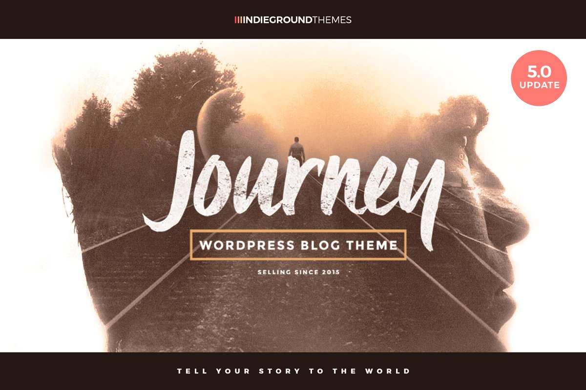 Journey - WP Blog Theme