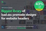 Photoshop-108 Handsome Headers
