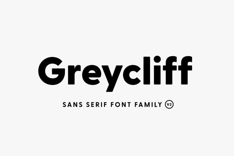 Greycliff CF: geometric sans font v2