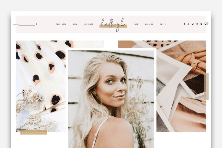 Hadleigh - A Blog & Shop Theme