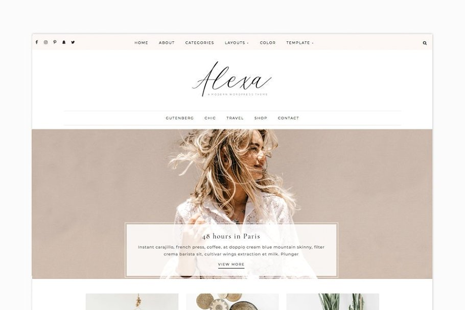 Alexa - WordPress Theme