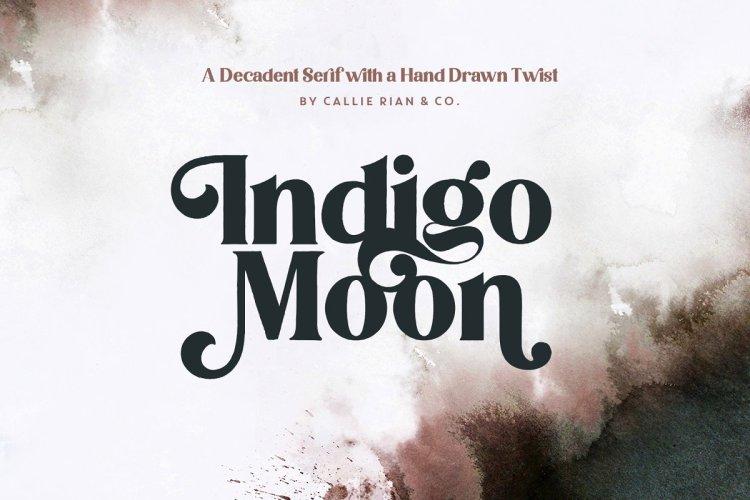Indigo Moon Decadent Serif