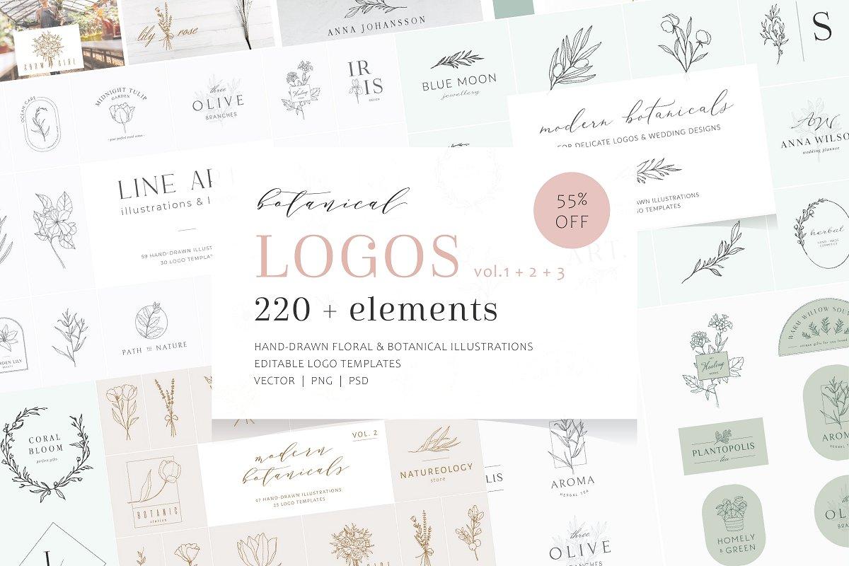70 + logos bundle | vol.1 + 2 + 3