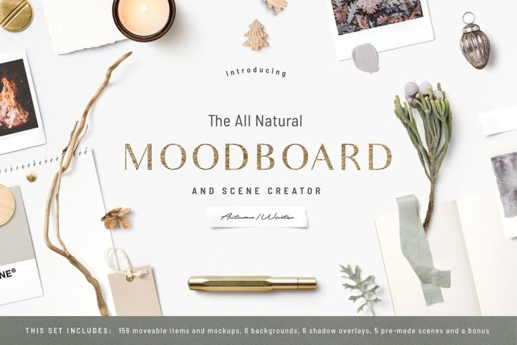NEW! The Natural Moodboard Creator