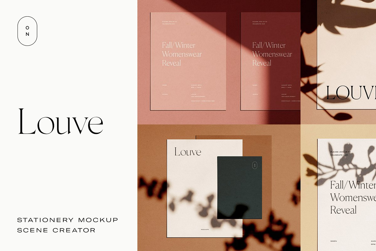 Louve – Shadow Mockup Scene Creator