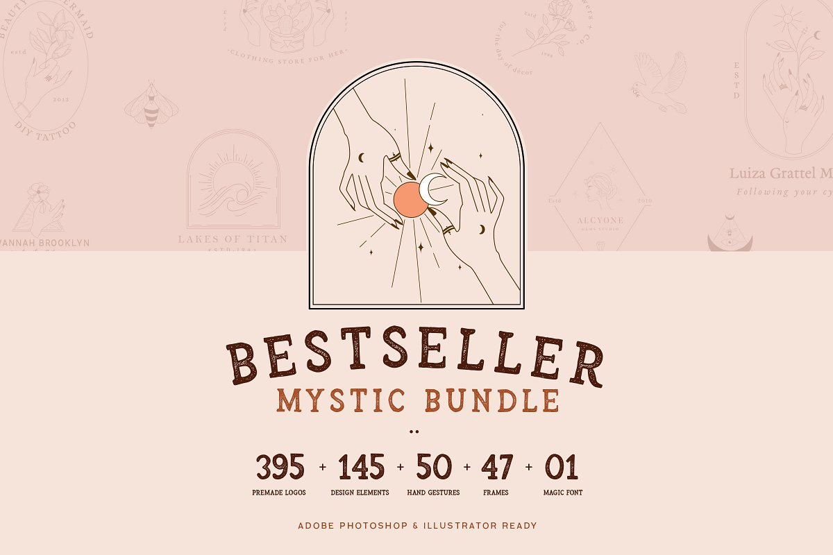 Bestseller Mystic Bundle//99% OFF