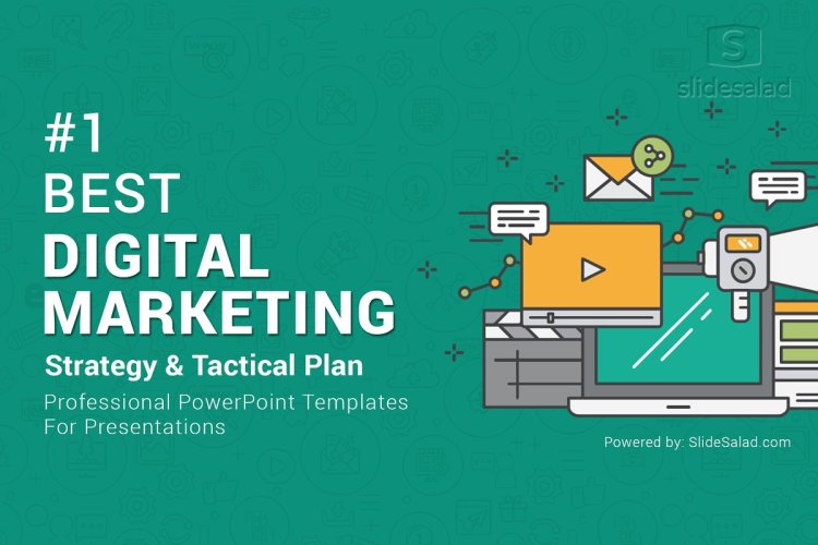 Top Digital Marketing PowerPoint