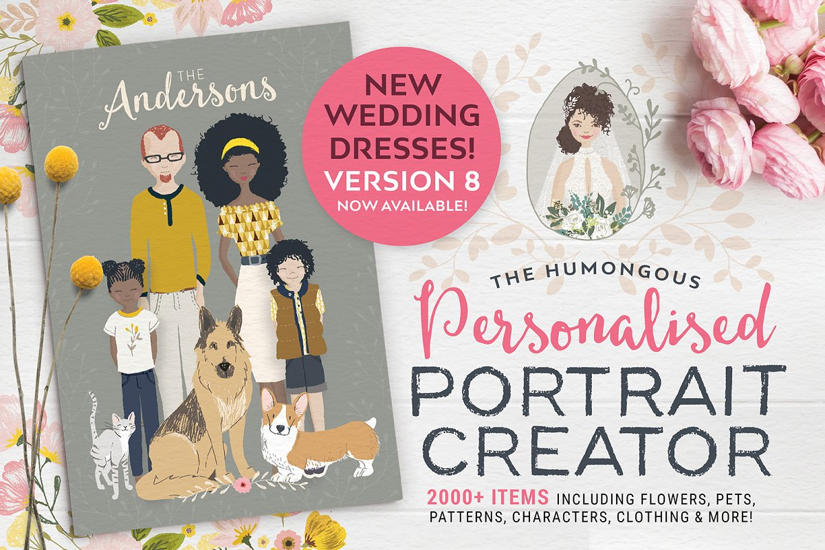 Personalised Portrait Creator v8