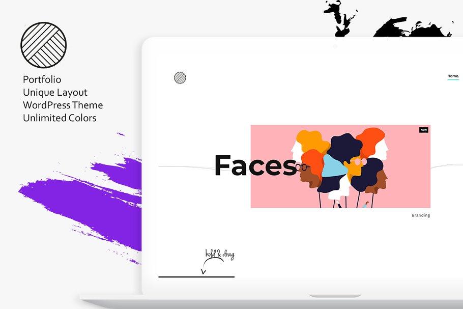 Unom - Creative Portfolio WP Theme