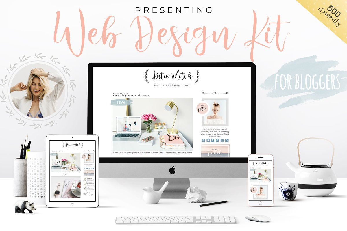 SALE! Web Design Kit for Bloggers