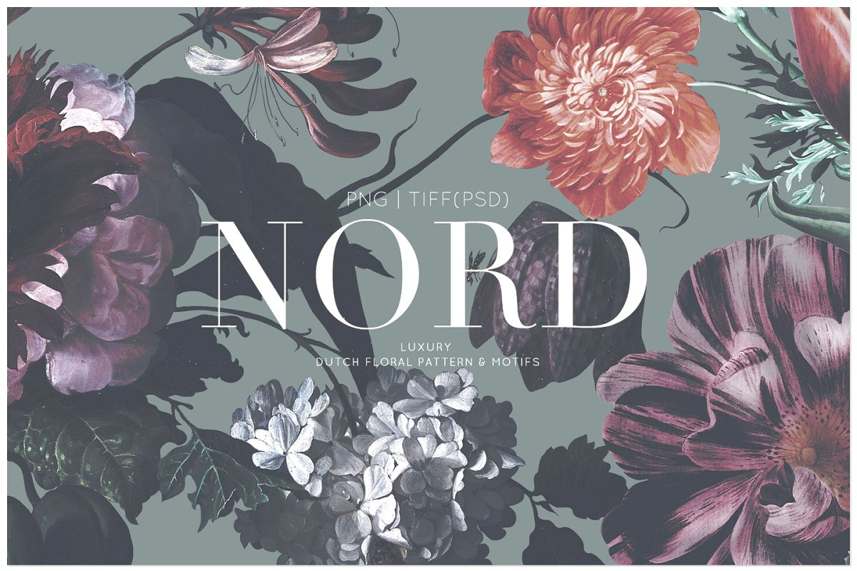 Nord, Classic dutch floral patterns!