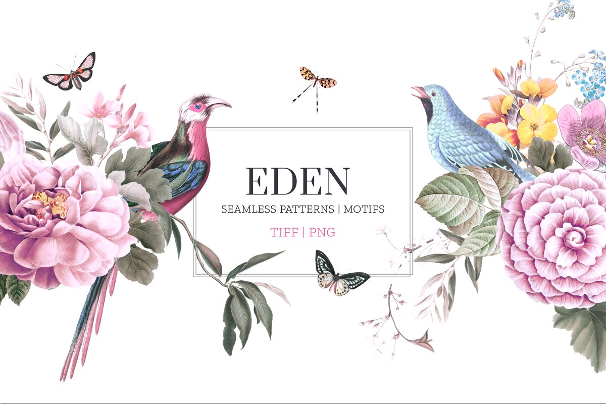 EDEN, Essence of elegance.
