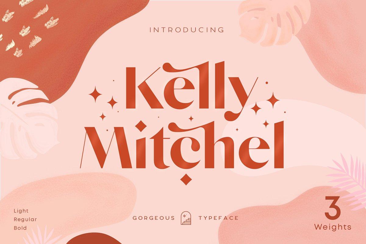 Kelly - 60% OFF Classy Sans Serif